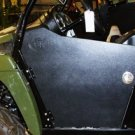 2011-2013 Arctic Cat Prowler Door Style Debris Mud Shields w/ Round Tube Frame