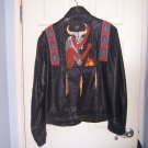 Great Custom Made Beaded Leather Jacket