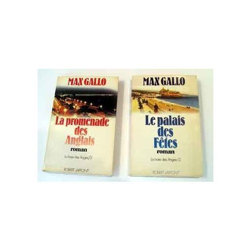La promenade des Anglais, Le palais des Fetes - 2 volumes in French