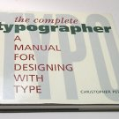 Complete Typographer by Christopher Perfect, Hardcover