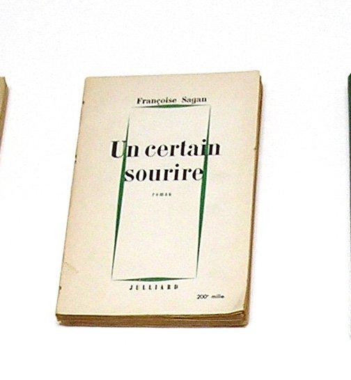 UN CERTAIN SOURIRE, Françoise Sagan - Julliard 1956 - French Edition