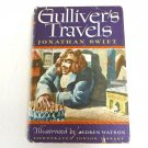 Gulliver's Travel by Jonathan Swift, Vintage Collectible Hardcover 1977