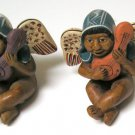 Peru Angels Ceramic Figurine Handmade, Individually Hand-Painted, early 1980s.