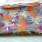 """1960's Fabric with abstracts Early 70s Light Weight Rayon Nylon 52"""" X 48"""""""