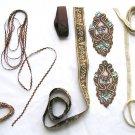 Ribbons, haberdashery, Decorative Trims, Grosgrain Ribbon, Brown Ornament, doll making