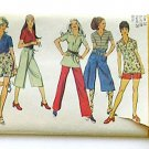 Pants Pattern Gaucho Vintage 1970s, Wide Pants Pattern, Simplicity 9317, Sewing Pattern.