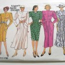 5 Versions of the same Dress in One Vogue Sewing Pattern 1796 Size 10 - New