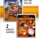 WORMS 2 AND WORMS ARMAGEDDON (2 GAME PK)