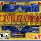 CIVILIZATION 3 - GOLD EDITION