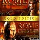 ROME TOTAL WAR - GOLD EDITION (DVD-ROM)