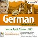 LEARN TO SPEAK GERMAN ESSENTIALS