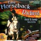 EASY HORSEBACK RIDING RIDE AND JUMP SEC.