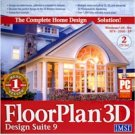 FLOORPLAN 3D DESIGN SUITE 9 - 2 CDS
