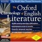 OXFORD CHRONOLOGY OF ENGLISH LITERATURE