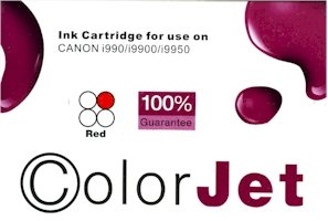 PBCI-6R CANON COMPATIBLE INK - RED