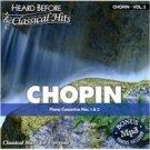 CHOPIN VOL 2 (HEARD BEFORE CLASSIC HITS)