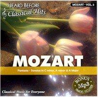 MOZART VOL3 (HEARD BEFORE CLASSIC HITS)