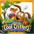 CRAYOLA COOL CRITTERS - 3D COLORING BOOK