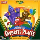CRAYOLA FAVORITE PLACES - 3D COLOR BOOK