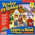 READER RABBIT READ W PHONICS 1ST 2ND GD