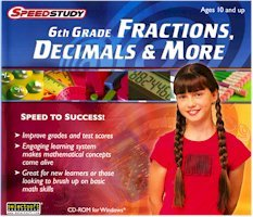 SPEEDSTUDY - 6TH GRADE FRACTIONS & MORE