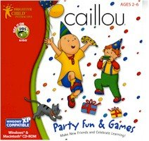 CAILLOU PARTY FUN AND GAMES