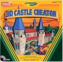 CRAYOLA 3D CASTLE CREATOR