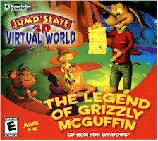 JUMP START LEGEND OF GRIZZLY MCGUFFIN