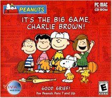 PEANUTS ITS THE BIG GAME CHARLIE BROWN