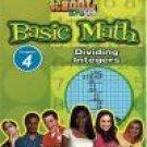 Standard Deviants School: Basic Math, Vol. 4 - Dividing Integers