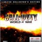 CALL OF DUTY WORLD AT WAR COLLECTORS ED.