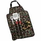 5pc Deluxe Camo Barbeque Tool Set