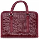 Red Faux Alligator Bible Cover