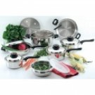 15pc Stainless Steel Cookware