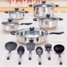Cookware and Kitchen Tool Set