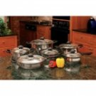 Wyndham House 12pc Stainless Steel Cookware Set