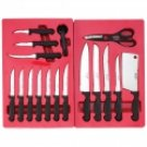 Diamond Cut 21pc Cutlery Set