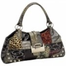 Jacquard Patchwork Purse