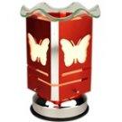 Electric Oil Warmer - Orange Butterfly