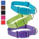 "Ultra Violet Purple Fashion Nylon Adjustable Dog Collar 10""-16"" Neck"