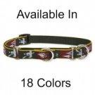 Lupine Medium Breed Combo Dog Collar red