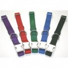 ALLMETAL Kwik Klip Dog Collars blue