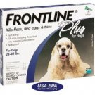 Frontline Plus For Dogs 23 to 44 lbs 3 Month Supply