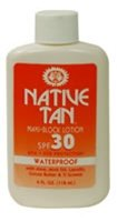 Native Tan Maxi-Block Lotion SPF 30 4oz