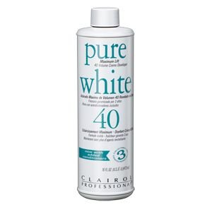 Clairol Professional Pure White Maximum Lift 40 Volume Creme Developer  16oz