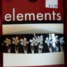 Elements Floral Hair Barrette