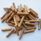 "50 Cork Cylinders with 15.00mm(diameter)"" x 75 mm length natural"