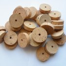 "30 Cork rings 2""x1/2"" quality AA bore 1/4"""