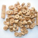 "100 CORK RINGS 11/4""X1/2"" BORE 1/4"" OVERSTOCK FLOR - 1.25"