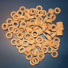 "100 CORK RINGS 1 1/4""X1/2""  BORE 3/4"" GRADE A+"